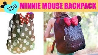 getlinkyoutube.com-DIY Minnie Mouse Backpack Under $15!