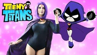 getlinkyoutube.com-RAVEN COSPLAY! | Teeny Titans