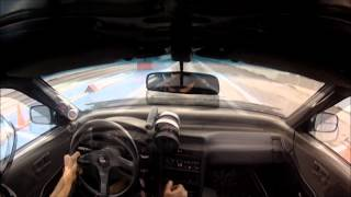 getlinkyoutube.com-12.2@112.4mph CRX H2B inside view