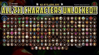 LEGO Batman 3: Beyond Gotham - ALL 211 Characters Unlocked (Includes ALL DLC)