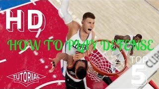 NBA 2K16 TIPS AND TRICKS- HOW TO PLAY LOCKDOWN DEFENSE IN NBA 2K16