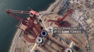 getlinkyoutube.com-Ain Dubai - largest observation wheel in the world being build!