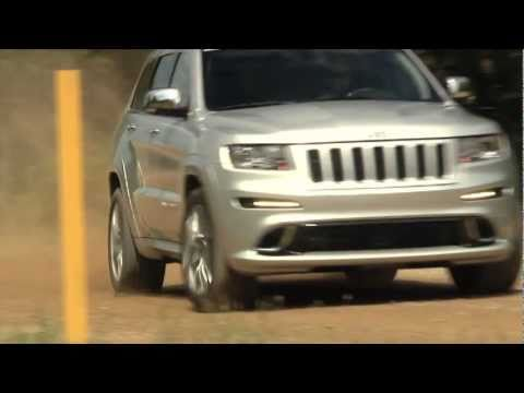 2012 Jeep Grand Cherokee SRT8: B-roll