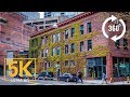 5K 360° VR City Tour from Seattle City, Downtown 4th & 5th Avenue - Washington State, USA