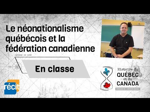 Le néonationalisme québécois et la fédération canadienne