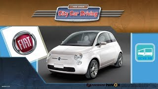 getlinkyoutube.com-[City Car Driving] Fiat 500 2007 [G25]