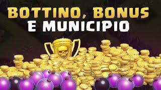 Sneak Peek #3 BOTTINO da MUNICIPIO, Bonus Leghe e TROFEI! Clash of Clans ITA