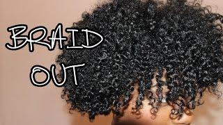 getlinkyoutube.com-Short Natural Hair | Braid Out Tutorial