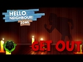 HELLO NEIGHBOR SONG GET OUT LYRIC VIDEO - DAGames