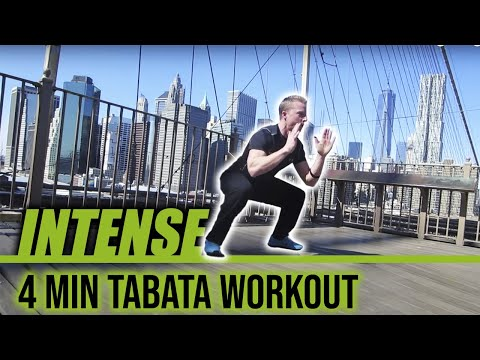 Tabata Routine: Get Lean In 4 Minutes Tabata Workout