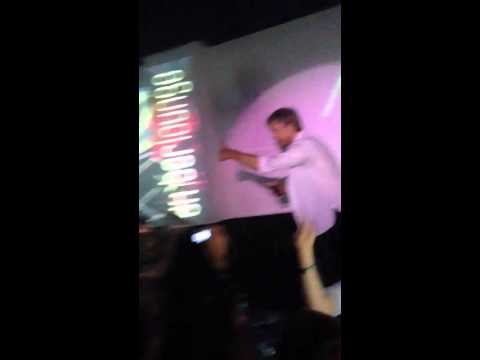 Nico Rosberg dancing