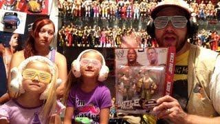 getlinkyoutube.com-WWE ACTION INSIDER: Cena vs The Rock Basic battle pack series 24 Mattel wrestling figures toy