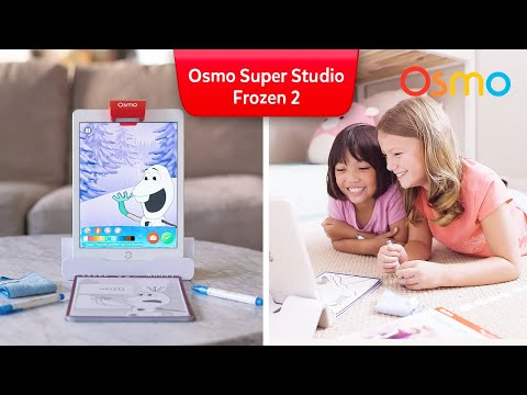 Osmo Super Studio Frozen 2 Kit for iPad - Ages 5-11 (Osmo Base Included)