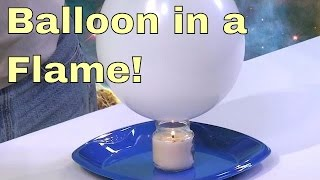 getlinkyoutube.com-Balloon in a Candle Flame - Science Experiment!  Cool Physics Heat Experiments - High School & Kids.