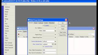 Mikrotik Web Proxy.....Howto create Web Cache in mikrotik.