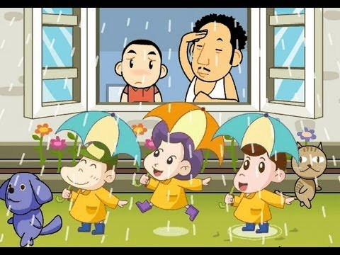 Rain, Rain, Go away  | nursery rhymes &amp; children songs with lyrics | muffin songs