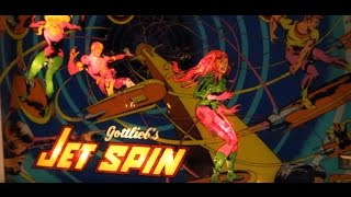 getlinkyoutube.com-1977 Gottlieb JET SPIN pinball machine