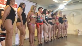 getlinkyoutube.com-La Curvy di Miss Italia Keyrà 2016 - Casting Roma