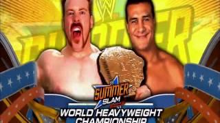 WWE SummerSlam 2012 Full Final Match Card