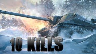 World of Tanks    10 kills et 2355 d'exp avec l' Obj 704 IX !    gameplay commenté FR