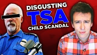 DISGUSTING! People Outraged Over New Video Exposing TSA's Treatment of a Child