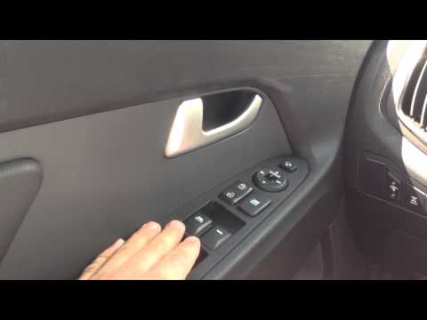 Автоматическое закрытие/открытие окон KIA Sportage/Automatic closing windows KIA Sportage