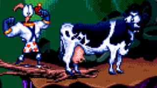 Earthworm Jim (Genesis) All Bosses - No Damage