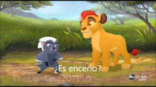 getlinkyoutube.com-El Leon Guardian El Retorno De El Rugido Trailer Substitulado (The Lion Guard)