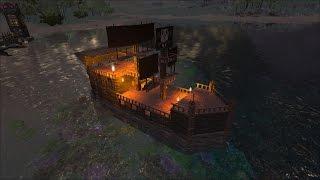 getlinkyoutube.com-ARK survival evolved vanilla ship build tutorial