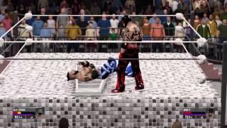 getlinkyoutube.com-WWE 2K16 Extreme Moments and Bumps 4