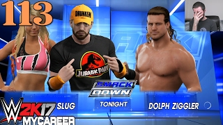 getlinkyoutube.com-WWE 2K17 My Career - Attack of the Slug (Part #113)