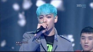 getlinkyoutube.com-BIGBANG_0311_SBS Inkigayo_INTRO & BLUE
