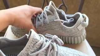 getlinkyoutube.com-Adidas Yeezy 350 Boost Moonrock Legit Check Tips