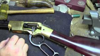 Field Stripping and cleaning early Winchester Pt 1 rifles