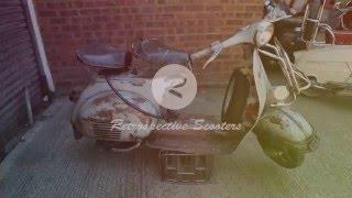 getlinkyoutube.com-Full Restoration of 1964 Vespa VNB 125