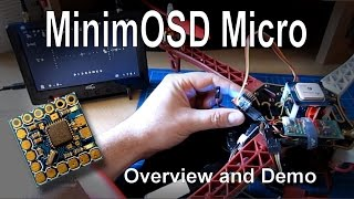 getlinkyoutube.com-MinimOSD Micro - Overview and Demonstration (KV Team mods)