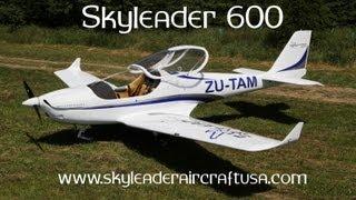 getlinkyoutube.com-Skyleader Aircraft, Skyleader 600 light sport aircraft at E.A.A. Airventure 2013