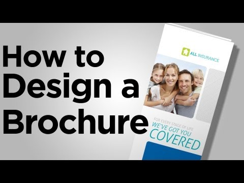 How to Design a Brochure - Tips from PrintPlace.com