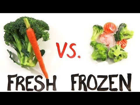 Fresh vs Frozen Food @mitchellmoffit