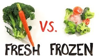 getlinkyoutube.com-Fresh vs Frozen Food
