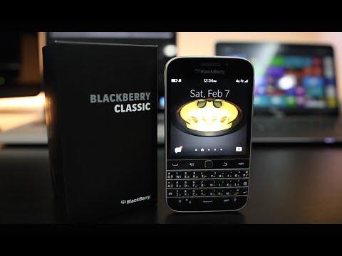 مراجعة جهاز BlackBerry Classic