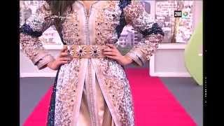 getlinkyoutube.com-صباحيات - Leila Hadioui: La nouvelle collection de la styliste Nadia Lahlou