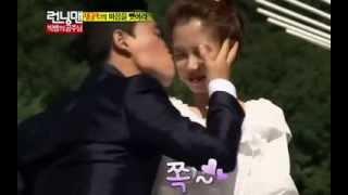 getlinkyoutube.com-Running Man Episode 163: Kang Gary kisses Song Ji Hyo on the cheek!