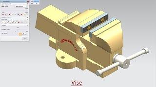 Vise - Motion Simulation (Video Tutorial)--Siemens NX