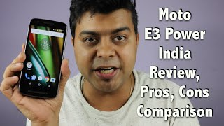 Hindi   Moto E3 Power India Unboxing, Review, Pros, Cons, Comparison   Gadgets To Use width=