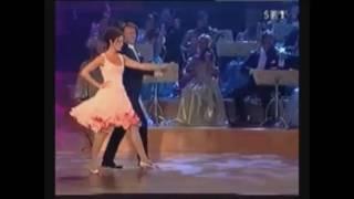 getlinkyoutube.com-André Rieu is dancing the Ländler with Barbara Wussow