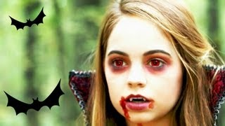 getlinkyoutube.com-Vampire Makeup Tutorial ♥