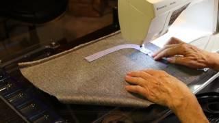 getlinkyoutube.com-Sewing Tutorial - The Curved Welt Pocket