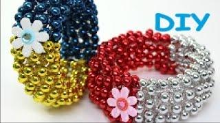 getlinkyoutube.com-DIY Crafts Bracelets out of Plastic Bottles and Necklace Recycled Bottles Crafts