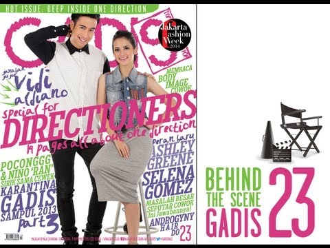 Behind The Scene - Vidi Aldiano and Jeumpa Fathya for GADISmagz 23/2013